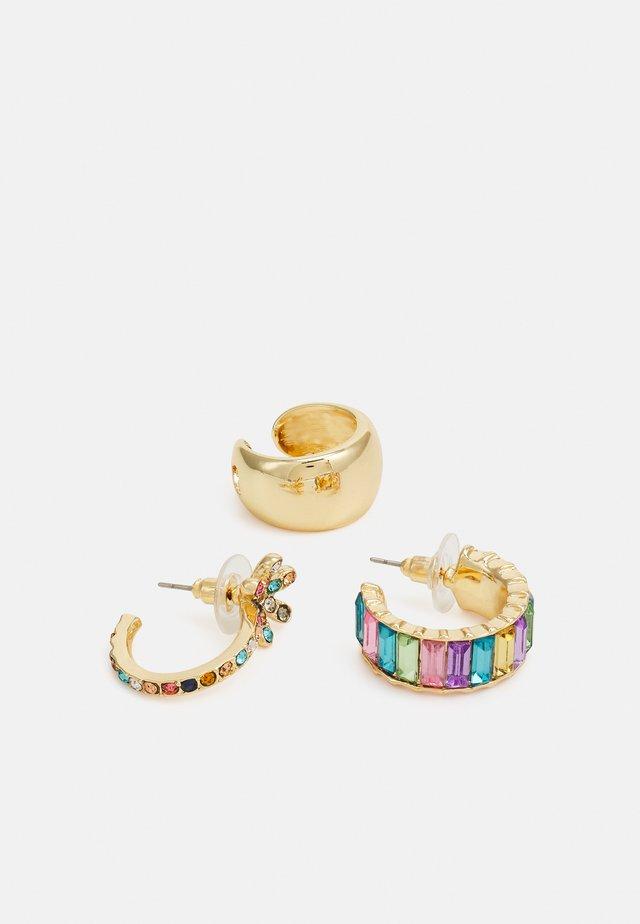 EARRING 3 PACK - Kolczyki - gold-coloured