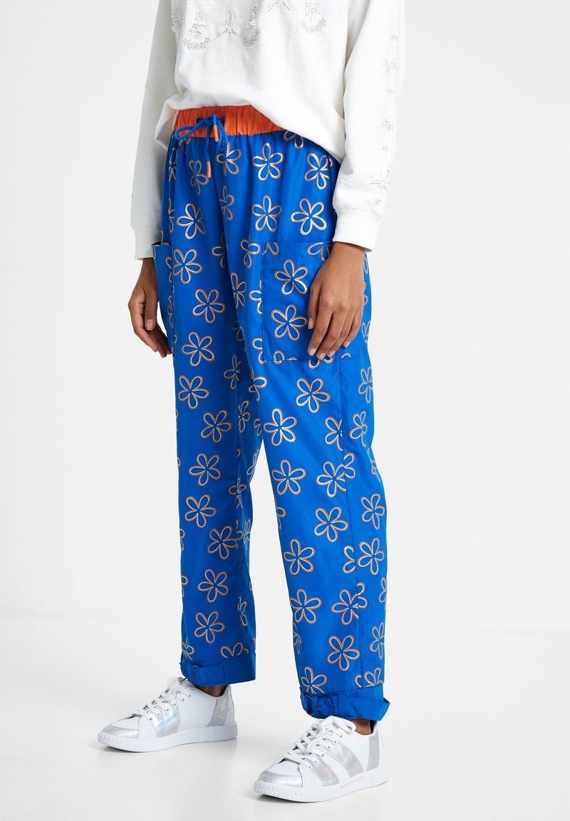 Desigual - EMILIE - Tracksuit bottoms - blue