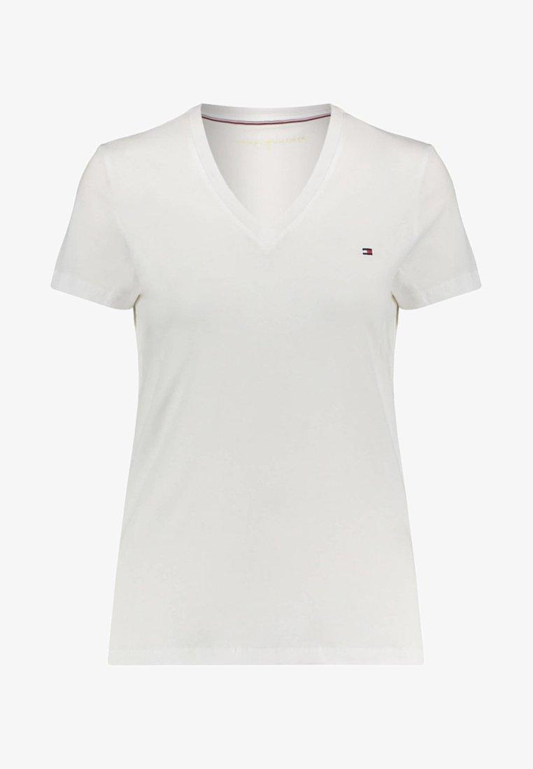 Tommy Hilfiger - HERITAGE - Basic T-shirt - white