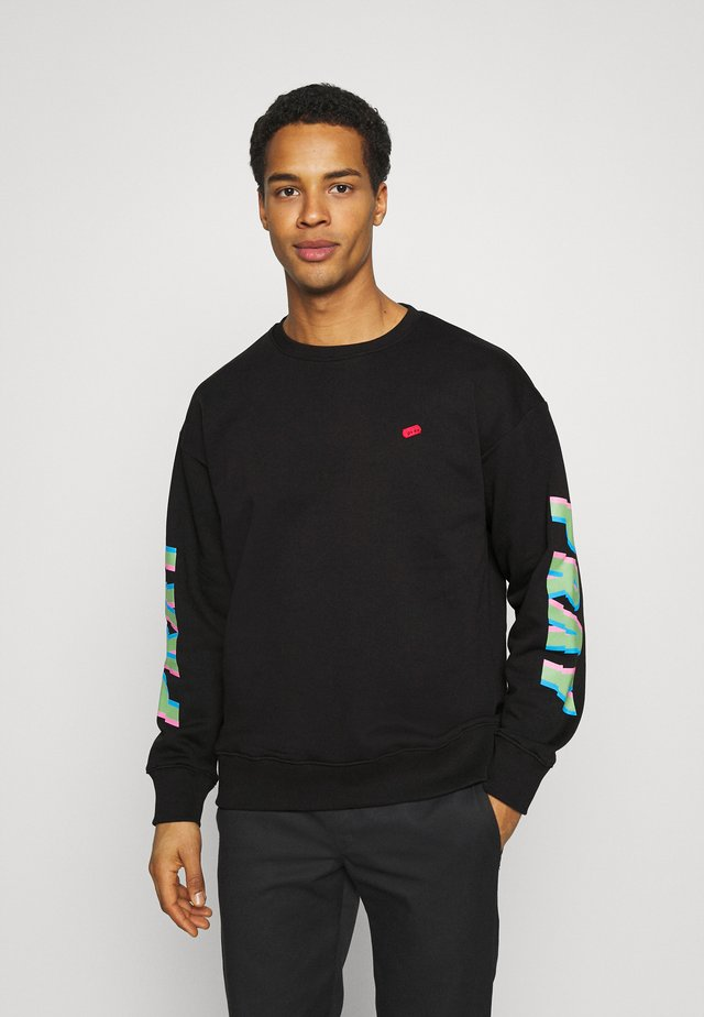 ALL NIGHTER LONG SLEEVE UNISEX - Collegepaita - black