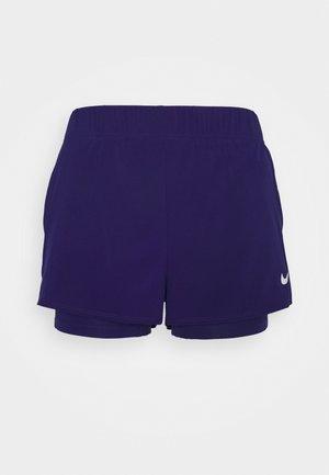 FLEX - Sports shorts - regency purple/white