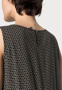 Opus - WORTA GEOMETRIC - Day dress - black - 4