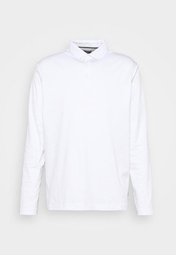 Esprit Collection Koszulka polo - white/biały Odzież Męska FQRL
