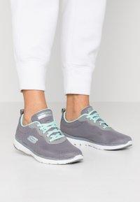 Skechers Sport - FLEX APPEAL 3.0 - Trainers - gray/mint - 0