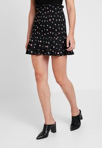 Fashion Union - BOYZIE - Mini skirt - black - 0