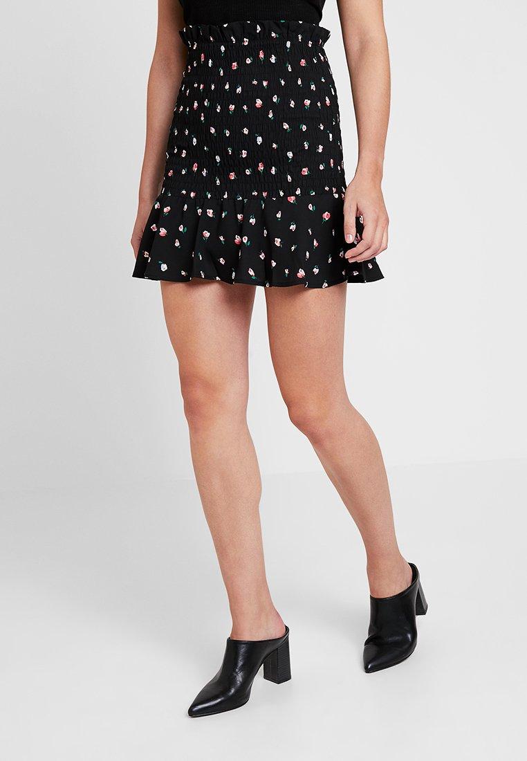 Fashion Union - BOYZIE - Mini skirt - black