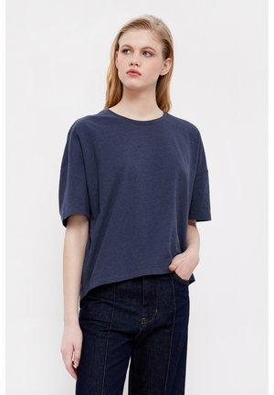 T-shirt basique - dark blue melange