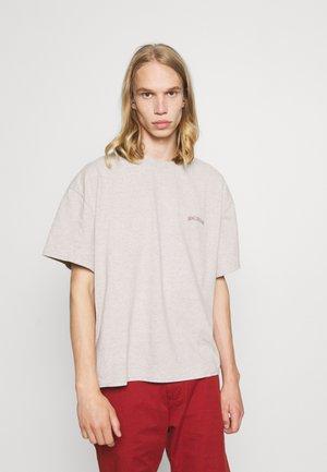 MARLED LOGO EMBROIDERED TEE UNISEX - T-shirt basique - ecru