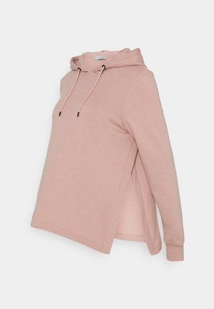 NURSING HOODIE WITH SLIT - Sweat à capuche - pink