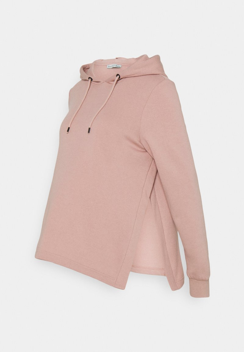 Anna Field MAMA - NURSING HOODIE WITH SLIT - Jersey con capucha - pink