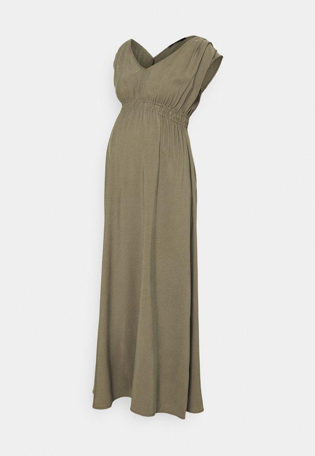 DAKA - Długa sukienka - khaki