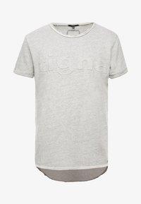 Tigha - MILO LOGO - Print T-shirt - grey melange - 4