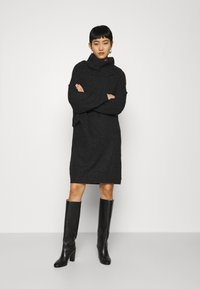 ARKET - DRESS - Jumper dress - dark grey - 1
