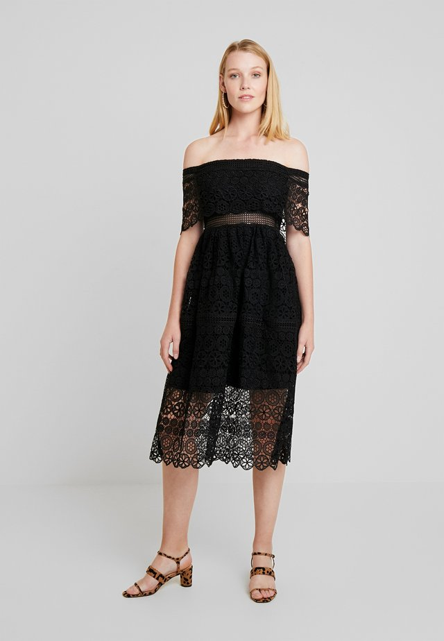 NOEMI DRESS - Cocktailjurk - black