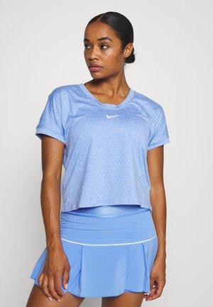 DRY - Print T-shirt - royal pulse/white