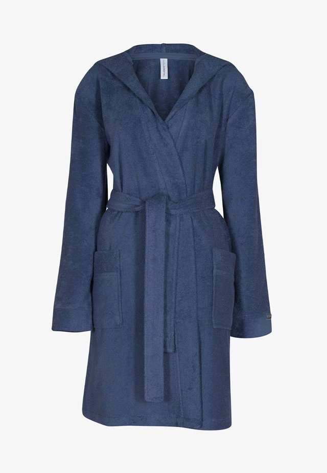 MIT KAPUZE  - Dressing gown - jeans