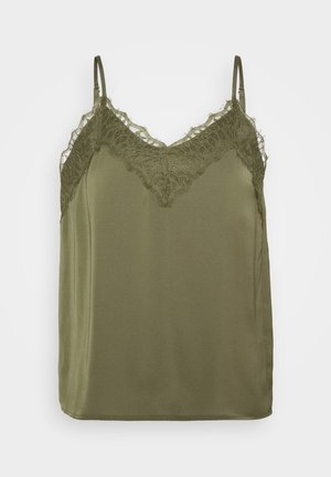 VMJUDY NEW SINGLET - Blouse - ivy green