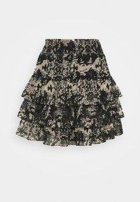 NIKKIE - RUFFLE SKIRT - Mini skirt - black - 4