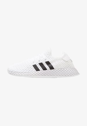 DEERUPT RUNNER - Zapatillas - footwear white/core black/grey two