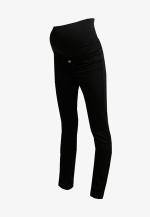 PANTS SLIM - Straight leg -farkut - black