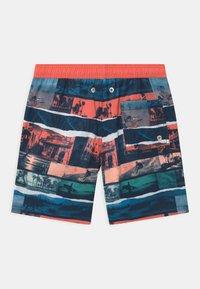 Sanetta - SWIM TRUNKS WOVEN - Swimming shorts - coral - 1