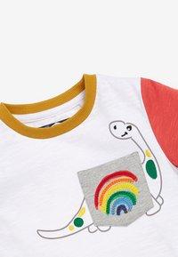 Next - Print T-shirt - off white - 2