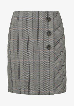 Wrap skirt - grey