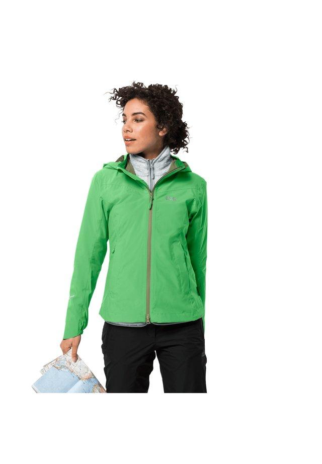 TOUR - Hardshell jacket - summer green