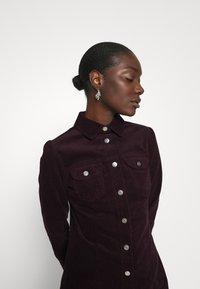 Dorothy Perkins - STRUCTURED SHIRT DRESS - Shirt dress - purple - 3