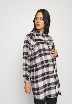 OLMMISTY LOOSE  - Button-down blouse - tofu