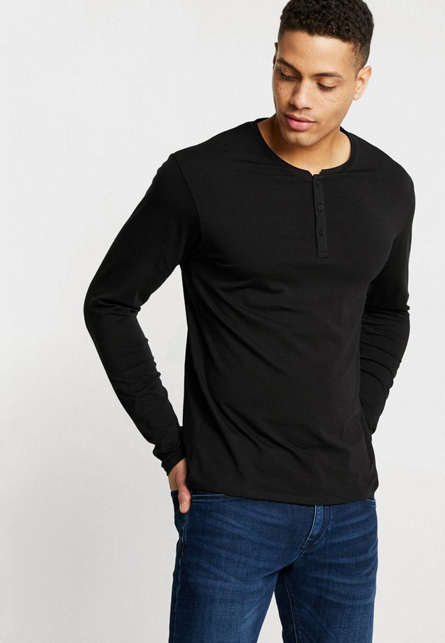 NESUPIMAO - Maglietta a manica lunga - noir