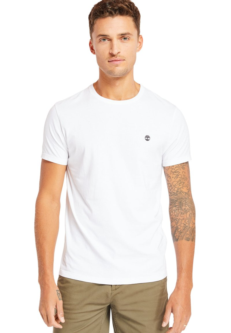 Timberland - 3PACK - Basic T-shirt - grey