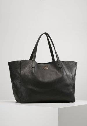 VIOLET HORIZONTAL TOTE - Shopping Bag - black