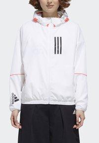 adidas Performance - Softshelljacke - white/black - 3