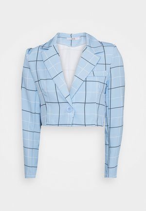 GEMMA STRIPE - Blazer - powder blue