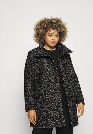 CARNEWSOPHIA COAT  - Classic coat - black/white melange
