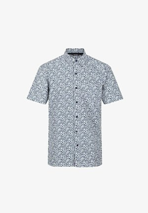 MINDANO - Shirt - white/dark denim floral