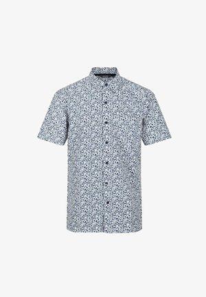 MINDANO - Shirt - white/dark denim floral