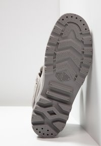 Palladium - VEGAN PALLABROUSSE BAGGY - Lace-up ankle boots - titanium/high rise - 4