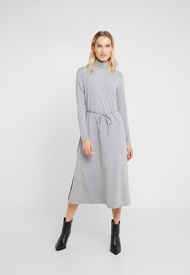ALIBI - Sukienka z dżerseju - hellgrau