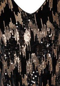 ZAY - LANGARM VELOUR MIT PAILLETTEN - Robe d'été - black - 2