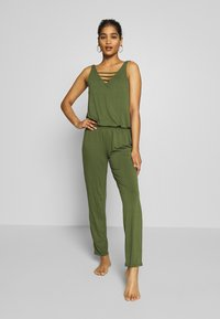 s.Oliver - OVERALL - Complementos de playa - olive - 0