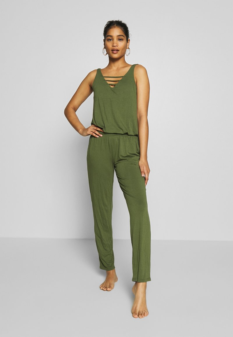s.Oliver - OVERALL - Complementos de playa - olive