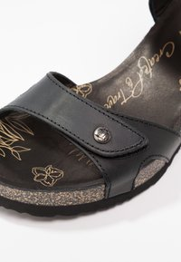 Panama Jack - JULIA BASICS - Platform sandals - black - 2