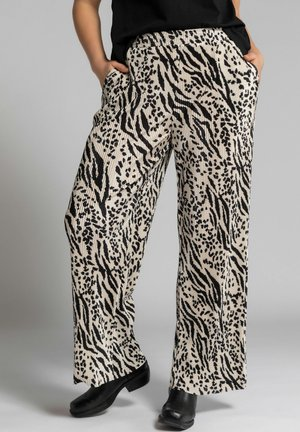 Trousers - beige sable