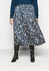Kaffe Curve - KCBINE SKIRT - A-line skirt - midnight marine - 0