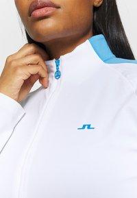 J.LINDEBERG - MARIE FULL ZIP MID LAYER - Sportovní bunda - white - 5