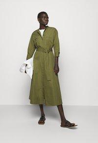 Theory - VENDOME - Maxi dress - olive - 1