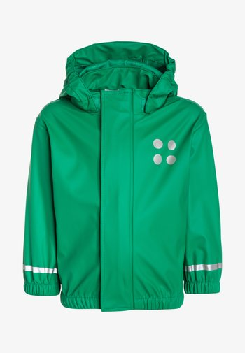 DUPLO JUSTICE - Waterproof jacket - light green