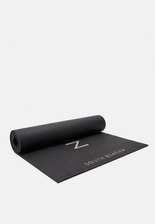 YOGA MAT - Fitness/yoga - black/mint
